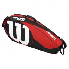 Geanta de tenis WIlson MATCH II rosu/negru