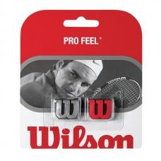 Antivibrator Wilson Pro Feel x2 (Red/Silver)