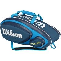 Wilson Tour V Blue 9 Pack