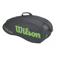 Wilson Tour Molded 6 Pack Black