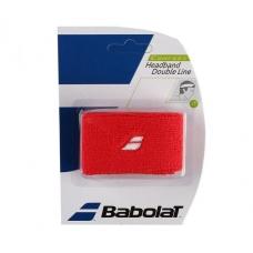 Babolat Headband Double Line Red