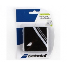 Babolat Wristband Double Line Black