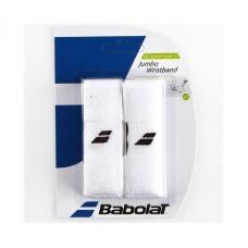 Babolat Wristband Jumbo White