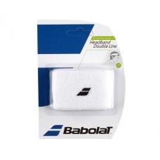 Babolat Headband Double Line White
