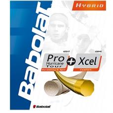 Babolat Hybrid Pro Hurricane Tour 1.25 + Xcel 1.30