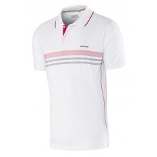 Tricou Polo Head Club M White Red